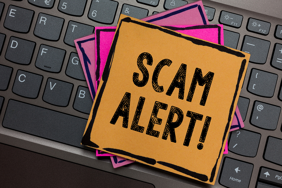 Top Five Most Common Internet Scams This Year